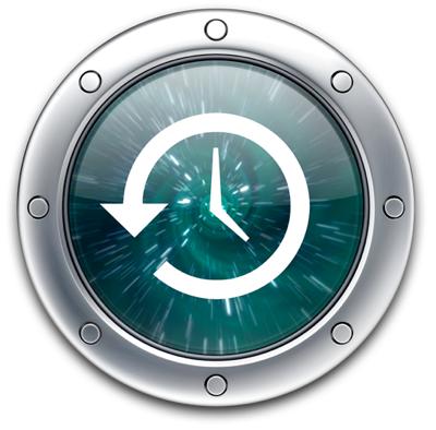 Sihirli elma time machine yedeklemek ikon