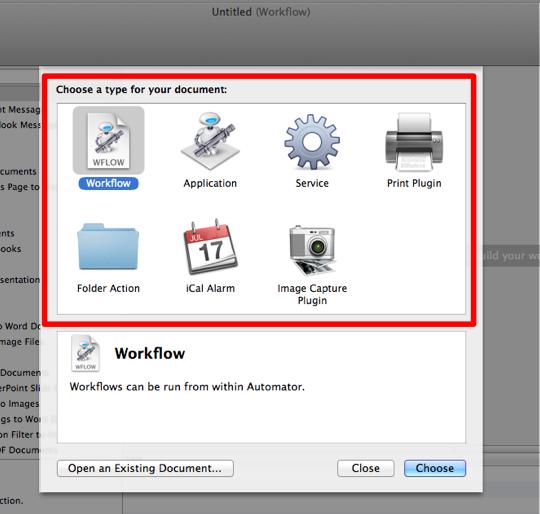 sihirli elma automator 1 main view 1 Automator nedir? Nasıl kullanılır?