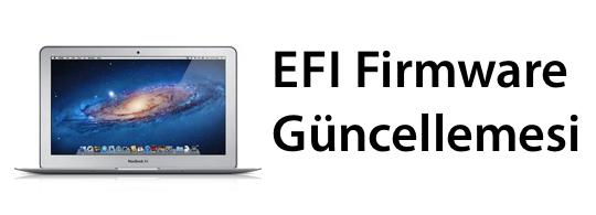 Yeni MacBook Air'ler için EFI Güncellemesi 2.1