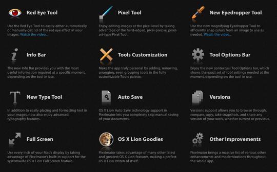 Sihirli elma pixelmator 2 features 2