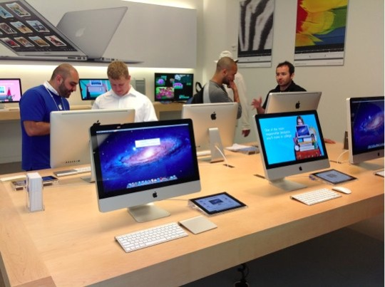 Sihirli elma apple store deneyimi iMac