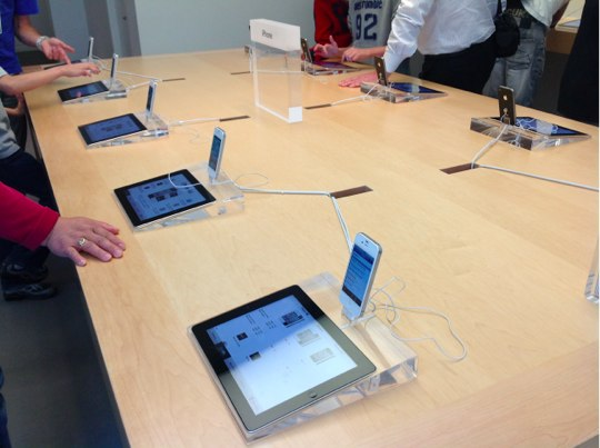 Sihirli elma apple store deneyimi iPhone