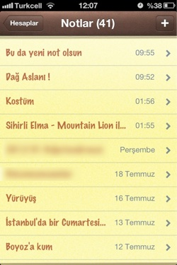 Sihirli elma mountain lion notlar animsaticilar bildirim merkezi 6a