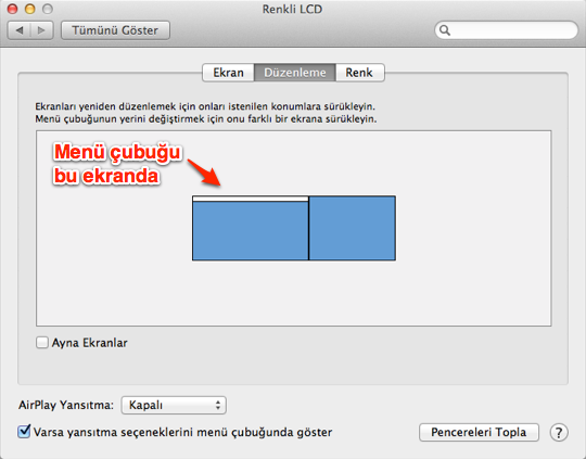 Sihirli elma mac projektor 14