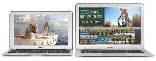 Sihirli elma yeni macbook air 2013 13