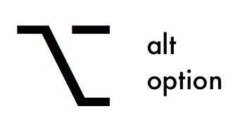 Alt option key