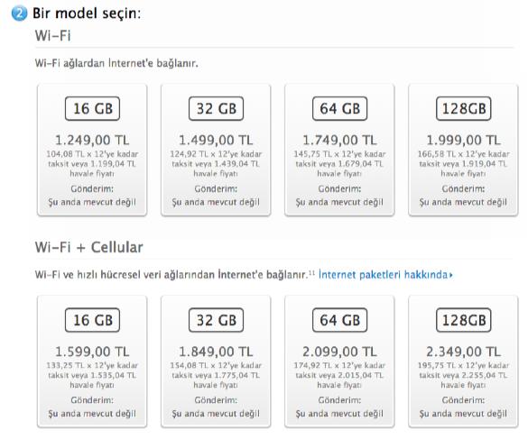 sihirli elma ipad mini satista turkiye 8 2 iPad mini ve iPad Air 27 Kasımda Türkiyede!
